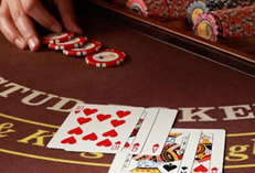 Casino Party Events rental Caribbean Stud Poker, Caribbean Stud Poker for rent Catering