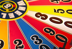 Casino Party Events rental Wheel of Fortune, Wheel of Fortune for rent Catering